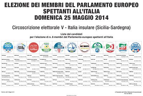 Elezioni Europee 2014 Liste Dei Candidati Europee 2014