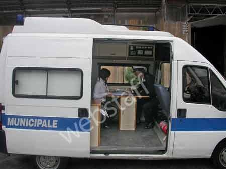 Nuova unit operativa dei vv uu polizia municipale for Mobile ufficio usato